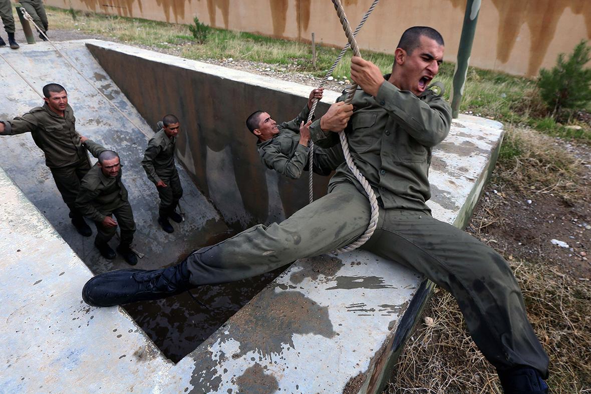 iraqi Kurds Turkey Kobani