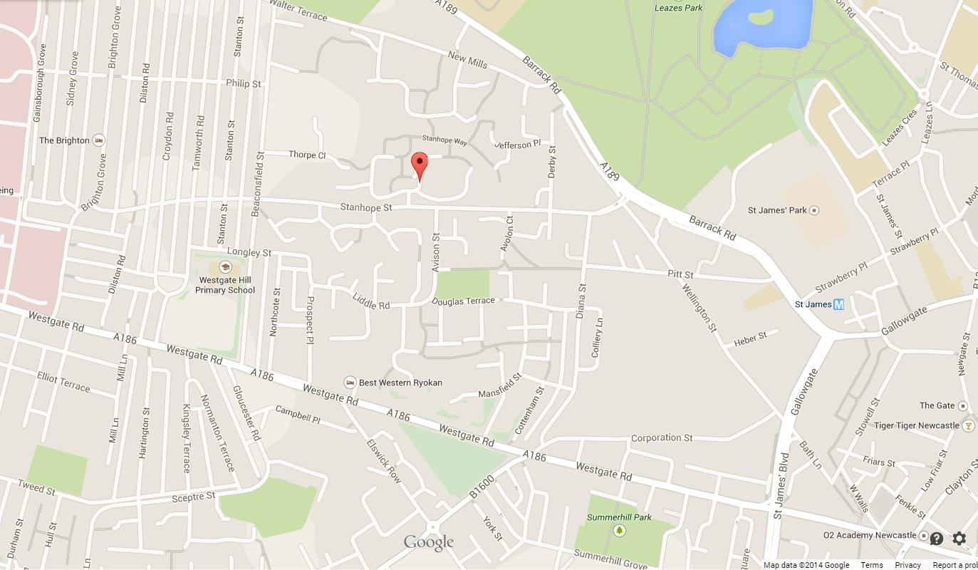 Newcastle Bomb Scare