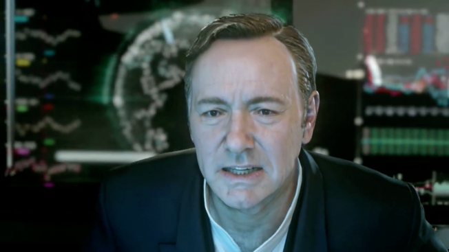 Kevin Spacey Breaks into Video Games with Latest Call of Duty