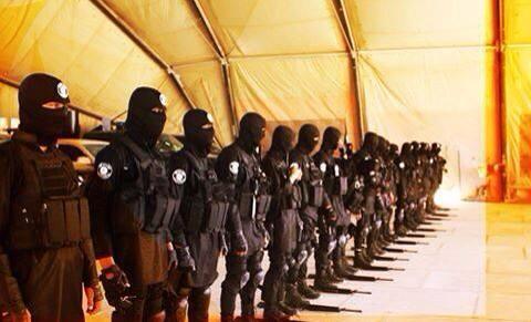 IS Qawat al-Muhaam al-Khaasa brigade M16 ISIS