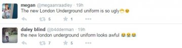 Criticism of LU uniforms on Twitter
