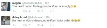 Criticism of LU uniforms on Twitter
