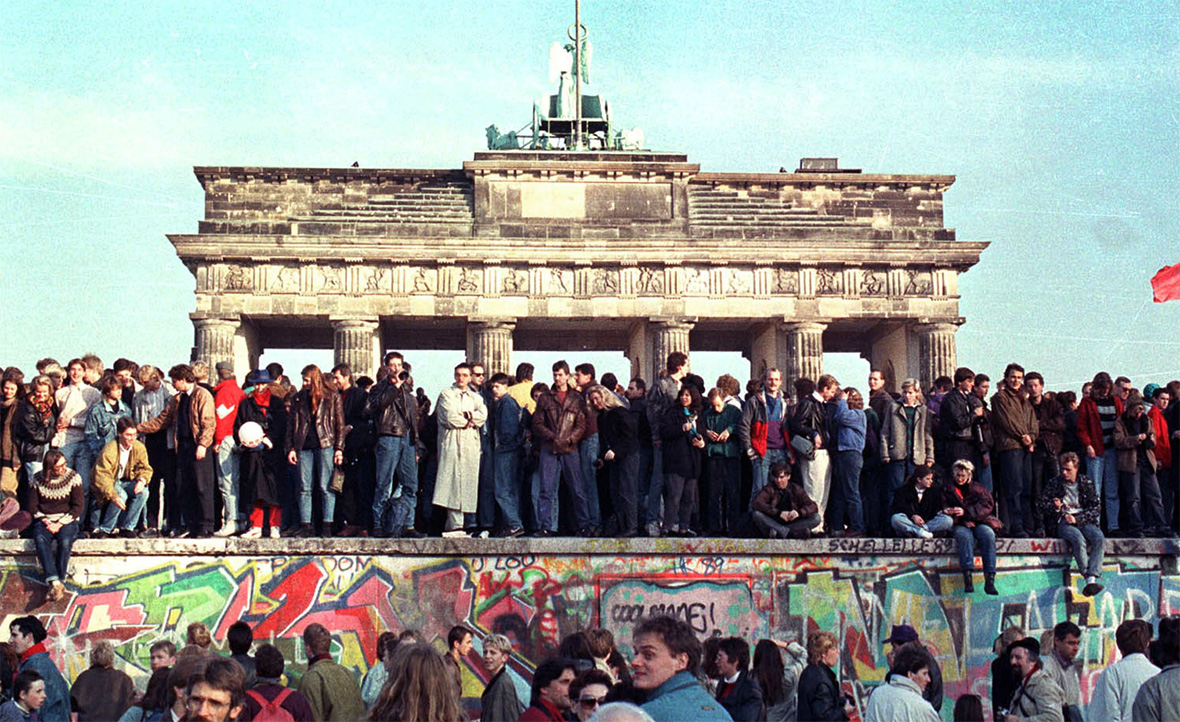 Berlin Wall 25th Anniversary Berlin Then And Now In
