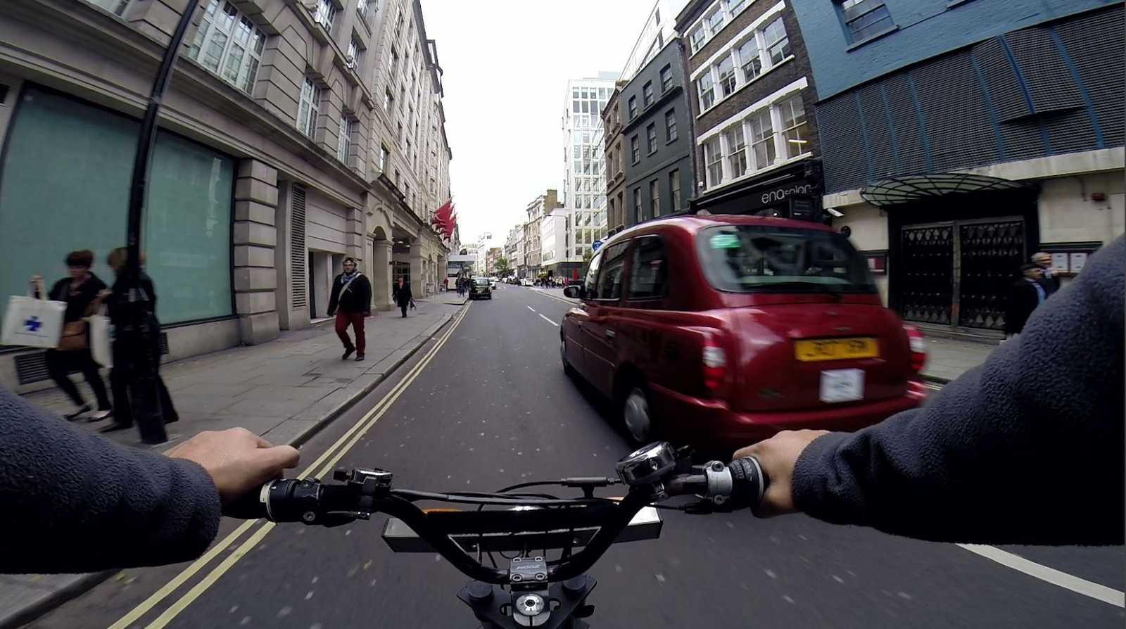 A Rickshaw Rider's View of Cycling Around London