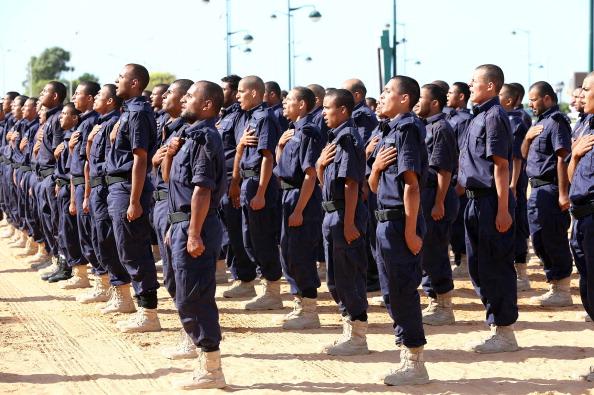 Libyan soldiers