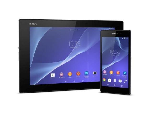 Sony Xperia Z2 and Xperia Z2 Tablet