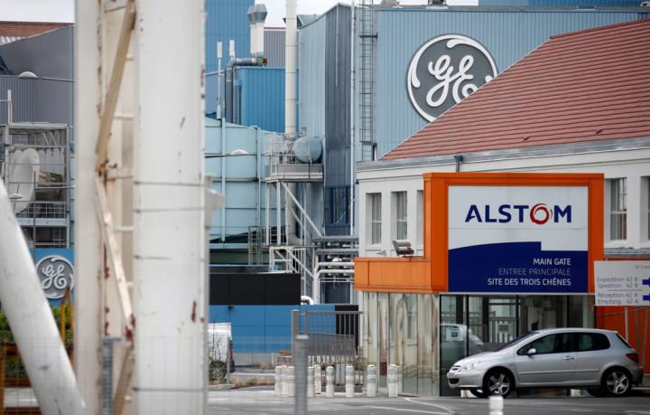 GE Alstom Logos