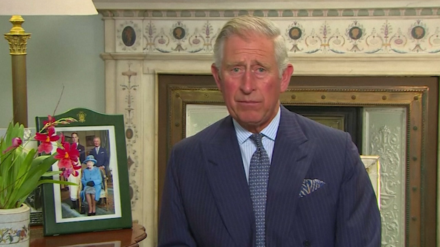 Prince Charles Appeals to Muslims on Behalf of 'Persecuted' Christians
