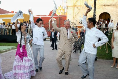 prince charles mexico dancing