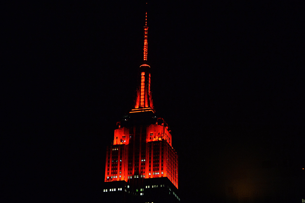 US midterms empire state building