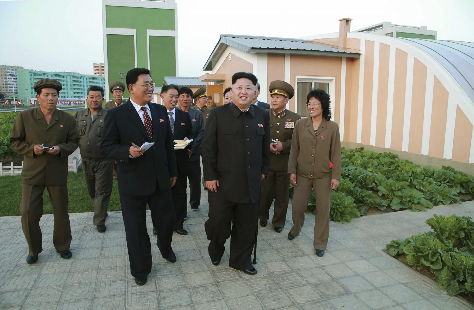 North Korean leader Kim Jong-un Nuclear Bomb