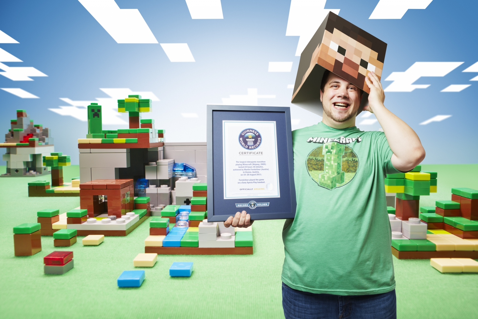 Guinness World Records 2015 Gamer S Edition Minecraft