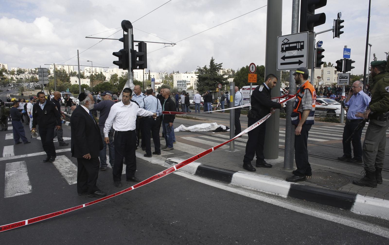 Israel Jerusalem car terror attack