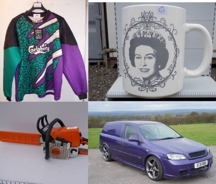 David James Auction