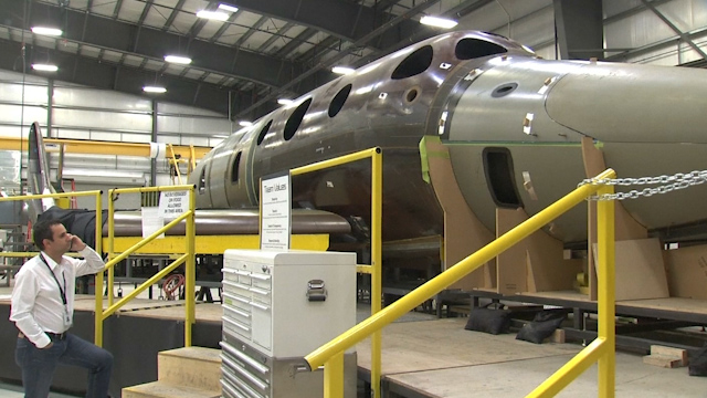 Virgin Galactic Back to Work with New Spaceship