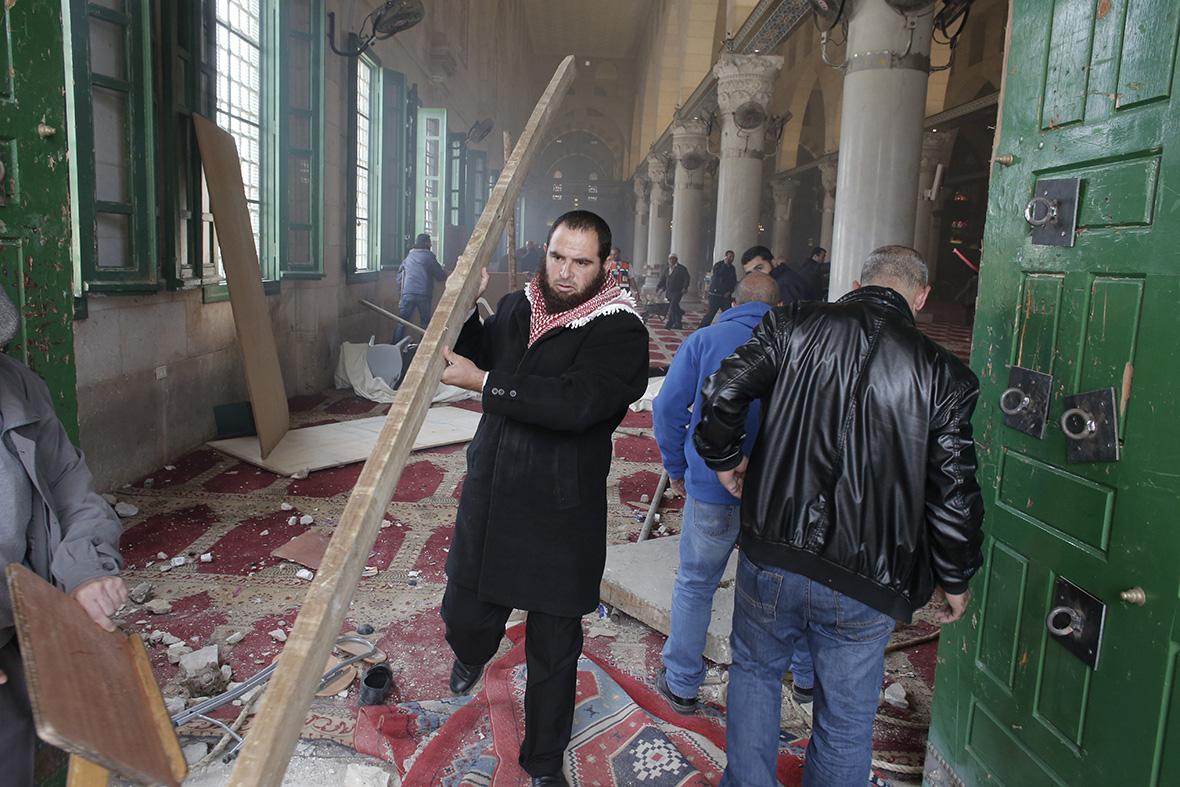 al-aqsa mosque Jerusalem