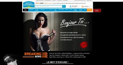 Rue du Commerce French E-Commerce Company Bans Women in Sexist Ad Campaign