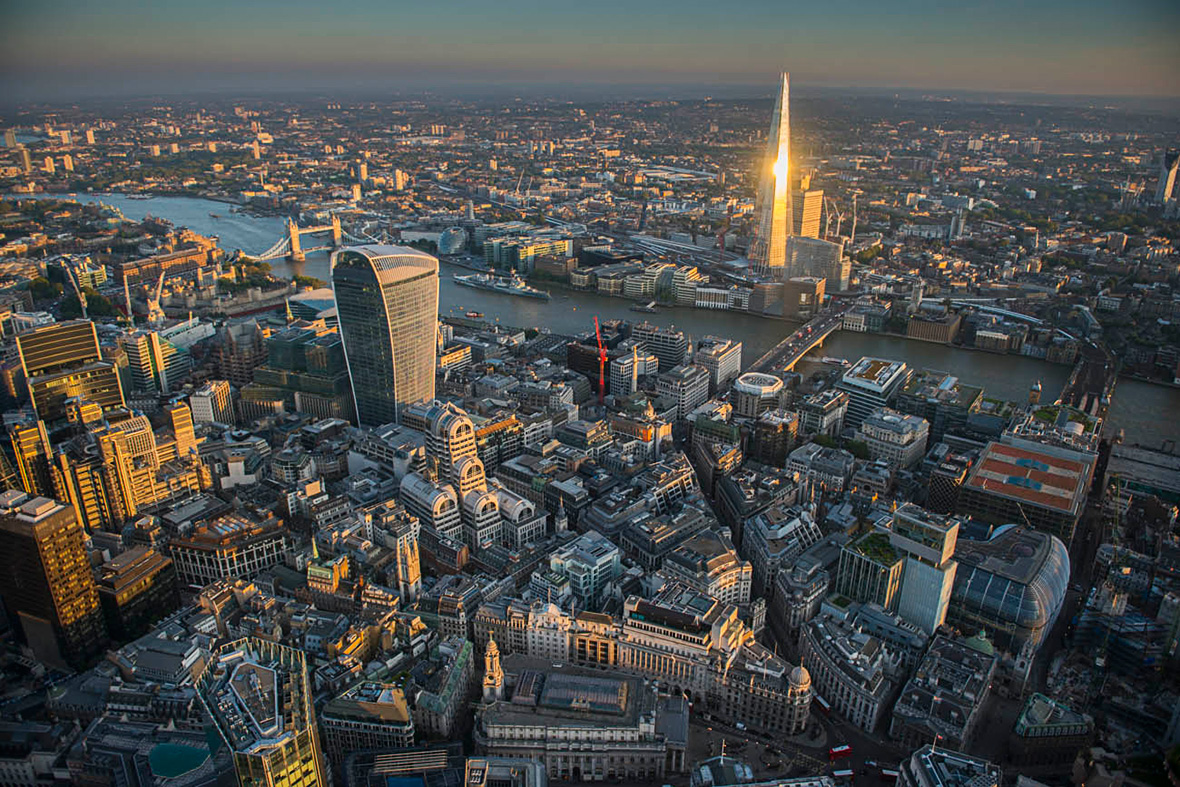 jason hawkes aerial london