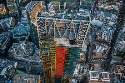 jason hawkes The Leadenhall Building cheese grater