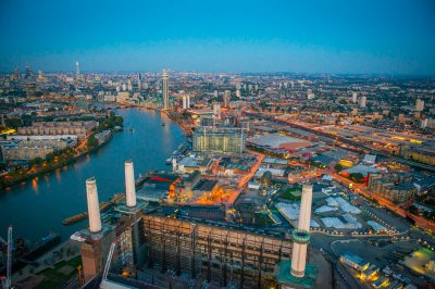 jason hawkes aerial battersea power station