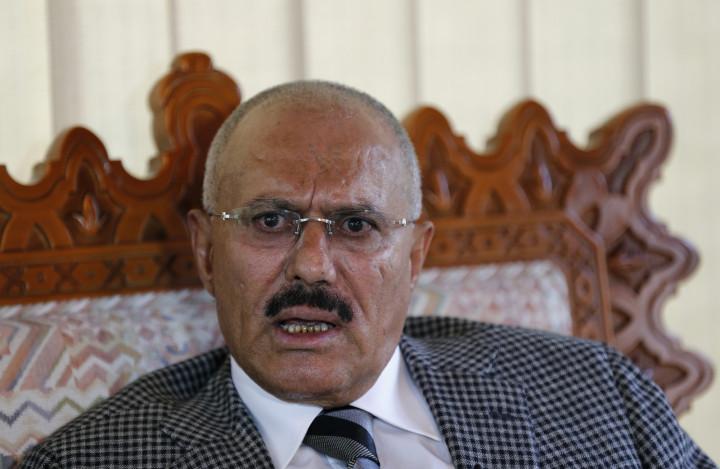 Yemen ex-President Ali Abdullah Saleh