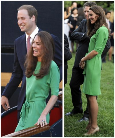 Kate Middleton tagged as the royal recycler