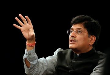 India Power Minister Piyush Goyal