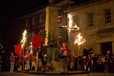 Bonfire night Lewes
