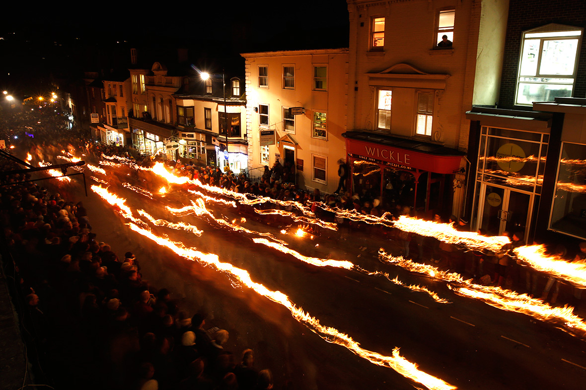 Bonfire night Lewes
