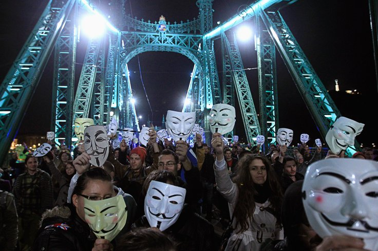 million mask march budapest