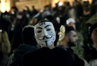 Anonymous Million Mask March - Protesters Speak Out