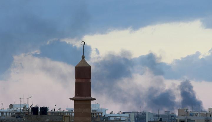 Benghazi smoke