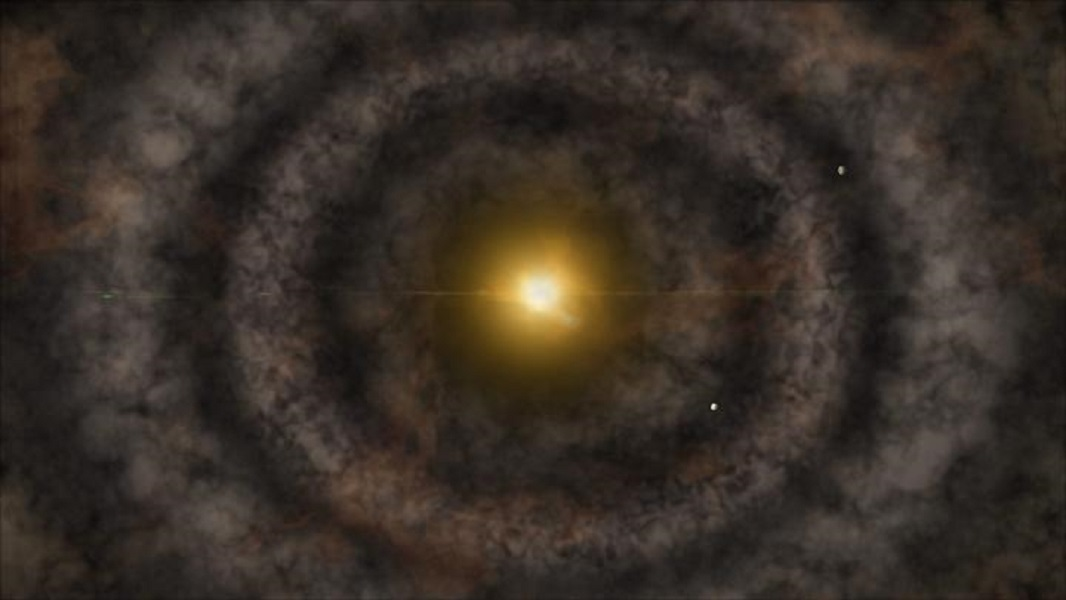 Protoplanetary Disk Artist Impression