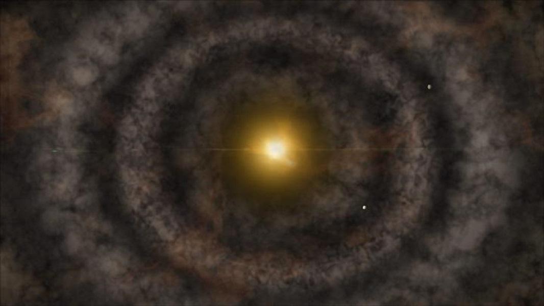 Protoplanetary Disk Artist Impression