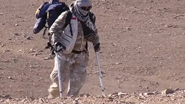 Disabled Chilean Man Crosses Desert in Protest of National Drugs Policy