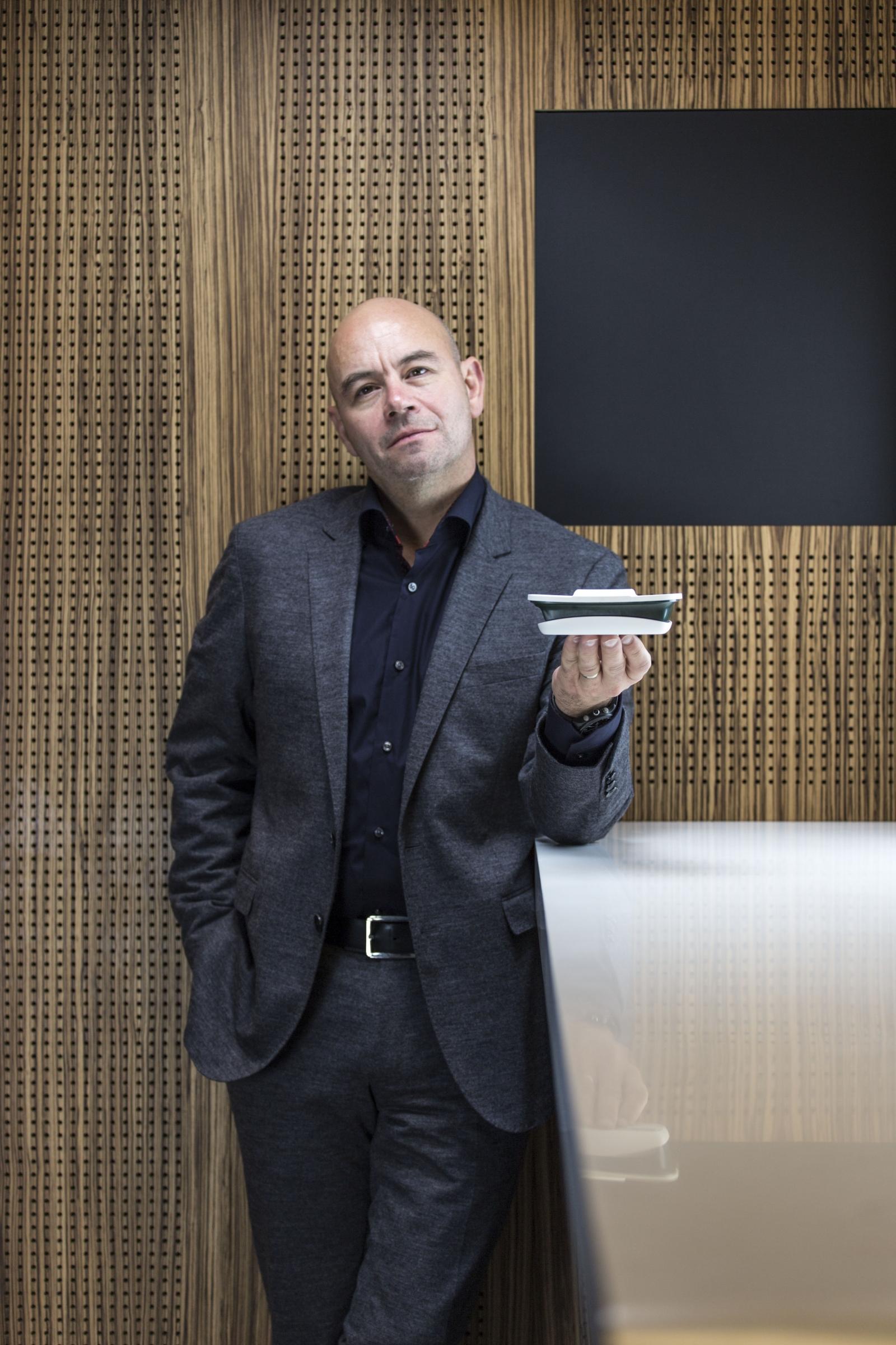 Smappee CEO Stefan Grosjean