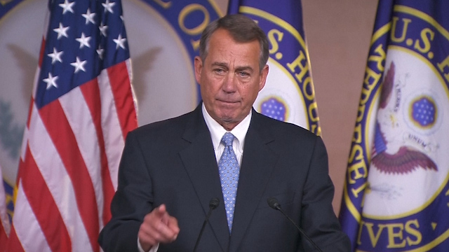 US Midterms: Speaker Boehner Touts Bills to Build Keystone, Repeal Obamacare