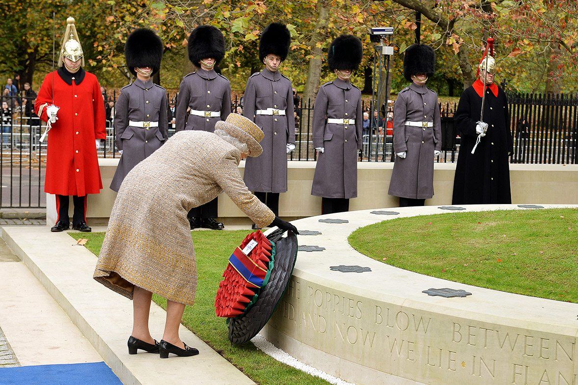 Remembrance Day Queen To Lay Wreath At Cenotaph As Part