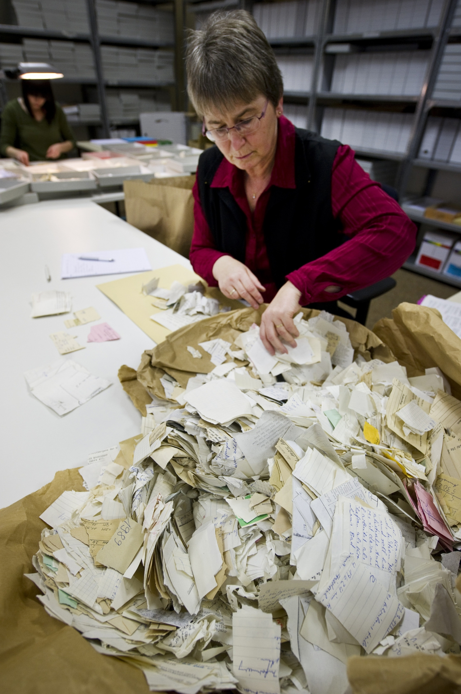 Stasi files restoration