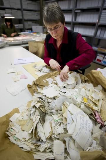 Stasi files restoration