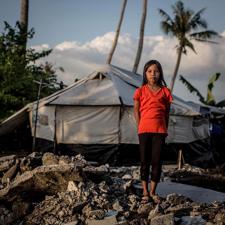 Typhoon Haiyan survivors