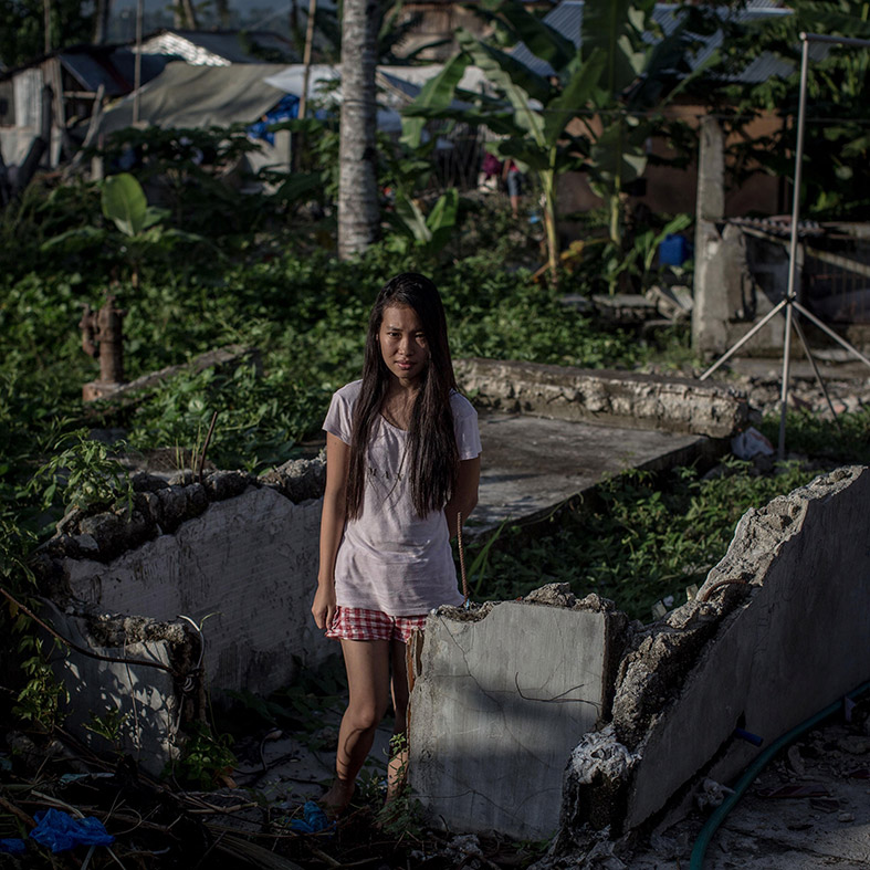 Typhoon Haiyan survivors