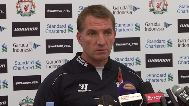 Rodgers: Injuries and Form Affecting Liverpool