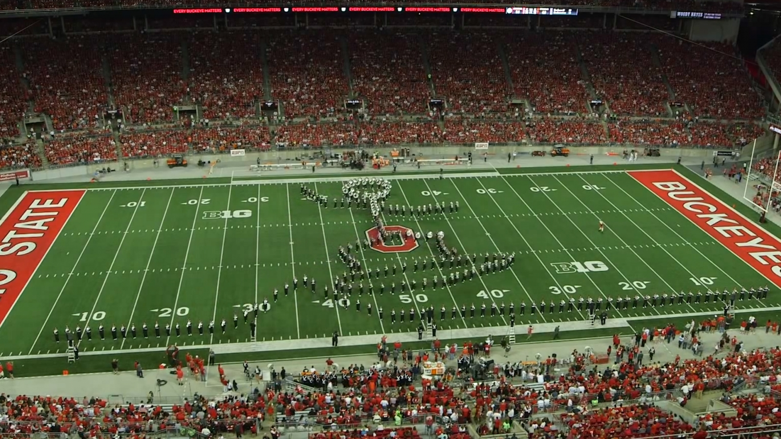 Ohio State University Marching Band: Highlights of Their Amazing Half-Time Shows