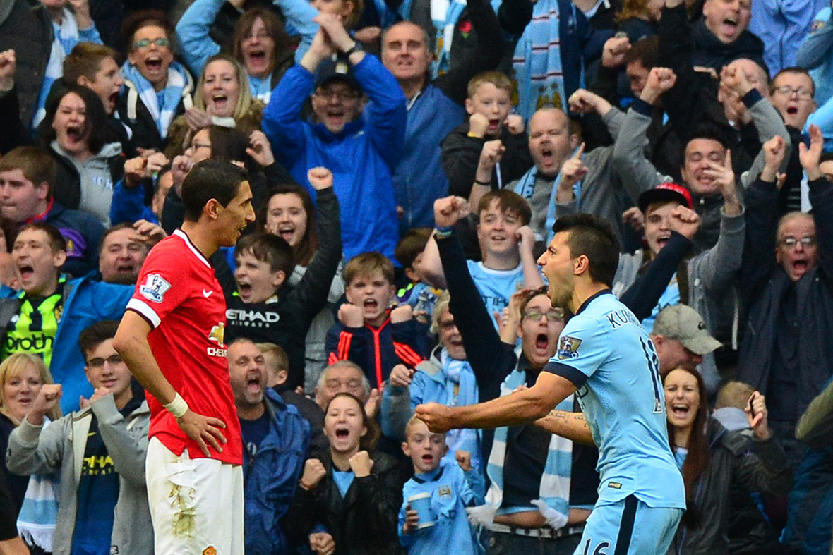 Manchester City Man United Aguero