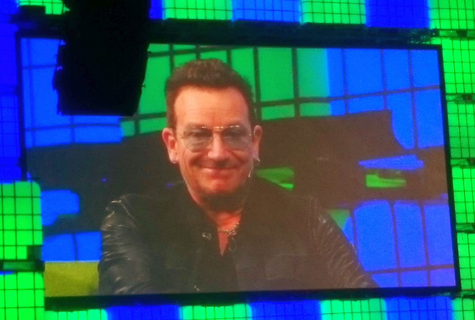 U2's Bono appeared at Web summit 2014 to talk about the future of music