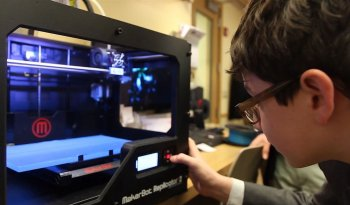 The MakerBot is now being used in education and children are taking to the technology like a fish to water