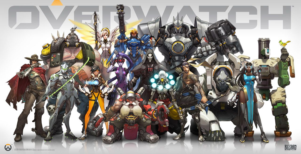 Blizzard Overwatch launching in 2015