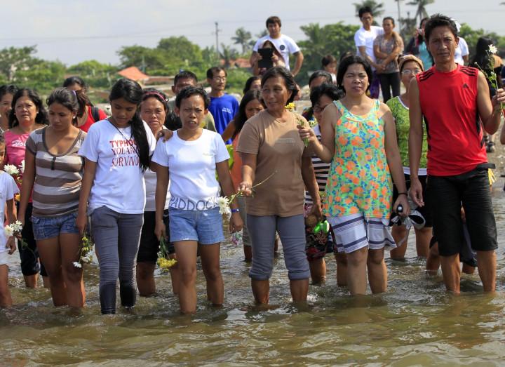 Philippines typhoon Haiyan anniversary