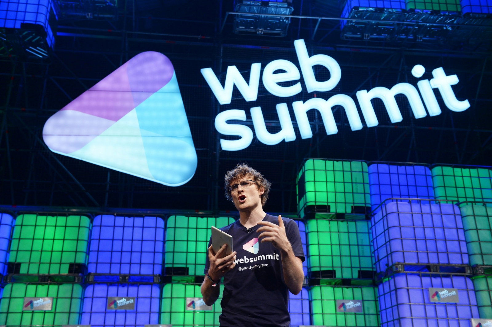 Web Summit 2014 Paddy Cosgrave WiFi